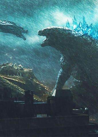 """《哥斯拉2:怪兽之王》""""双雄争霸""""版预告 """"每一帧都觉得好贵好贵哦"""""""