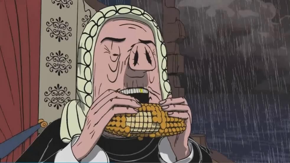 国外点击破亿短片《少数人的晚餐》,揭露人性本质的黑暗讽刺动画