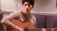 微电影《治愈之岛》花絮 杨洋片场秒变吉他小子
