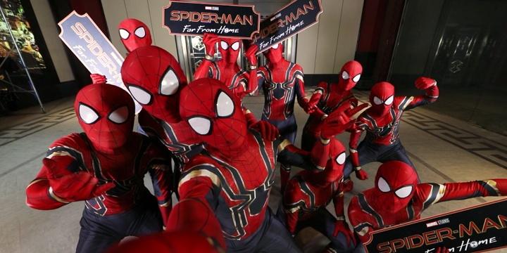 《蜘蛛侠:英雄远征》涂鸦手绘特辑