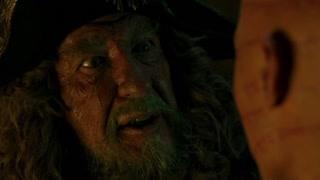 杰克船长在英国的监狱中见到了自己的叔叔 临刑前两人相谈甚欢