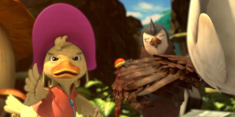 《疯狂丑小鸭》影城版预告片