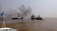 外籍船舶非法入境闯入长江江苏太仓段 海事局迅速出动拦截