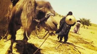 洪七妻子不愿离开丈夫 带着草帽荒漠里等待多日