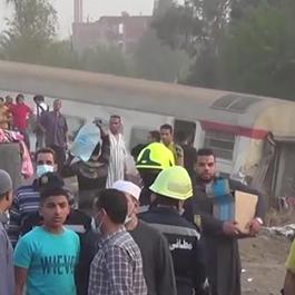 埃及列车脱轨至少11人死亡