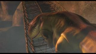 蜥蜴准备偷袭赞比西亚 幸好阿凯及时发现