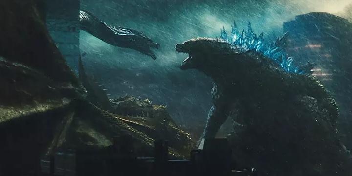 """《哥斯拉2:怪兽之王》""""怪兽进击""""预告片"""