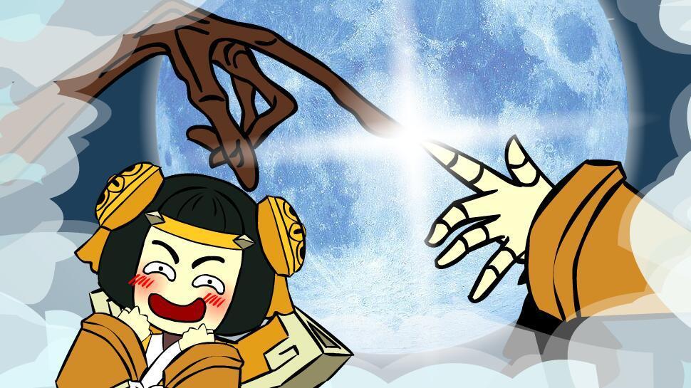 王者荣耀搞笑小动画:来自神秘的第