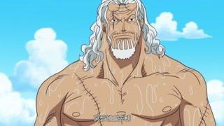 和巨大海王类打架 雷利泳装登场