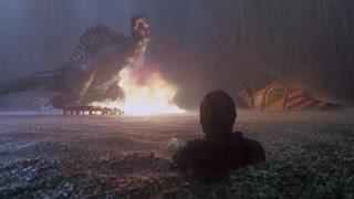 水中恶战火烧巨型恐龙