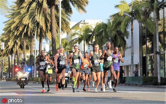 2019洛杉磯馬拉松盛大開跑