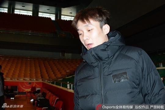 山东男篮训练备战第13轮比赛