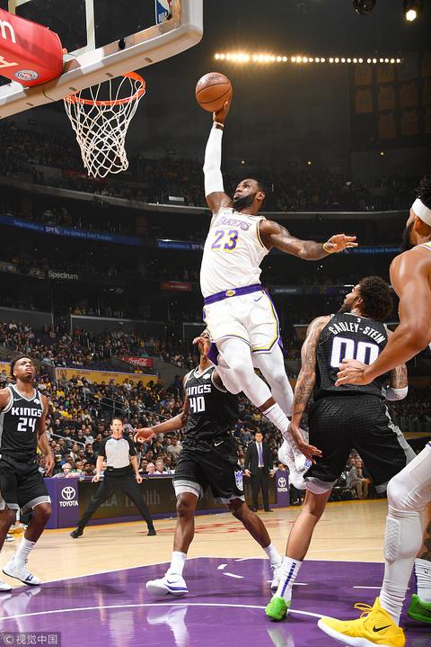 NBA常規賽:湖人-國王