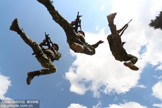 武警云南總隊:特戰特訓錘煉實戰能力
