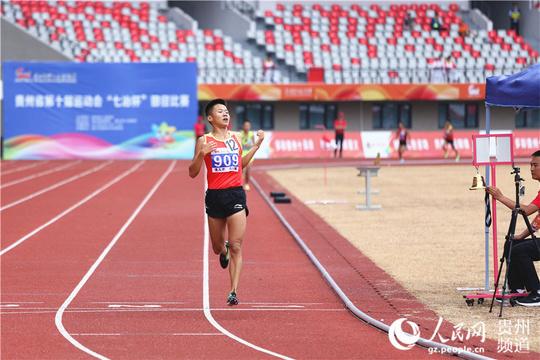 十运会男子甲组3000米决赛开赛 汪洪耀摘金