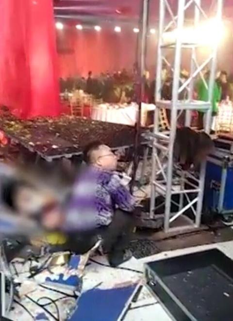 河南一婚礼发生爆炸 新娘父亲遇难