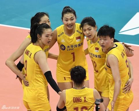 世界女排联赛中国3-0保加利亚
