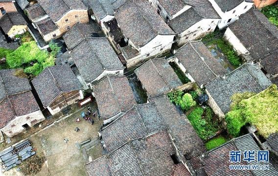 【高清】潇贺古道旁的古建筑群