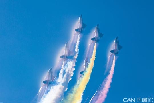 八一飛行表演隊參加巴國慶日 回顧曾經表演