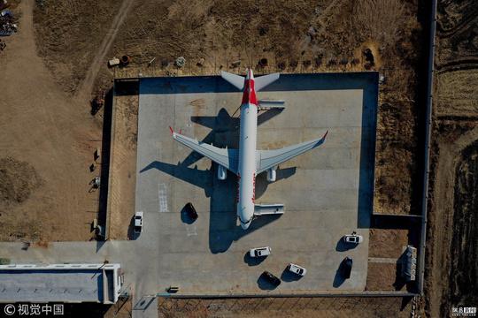 辽宁一农民造等比例客机模型 花费290多万