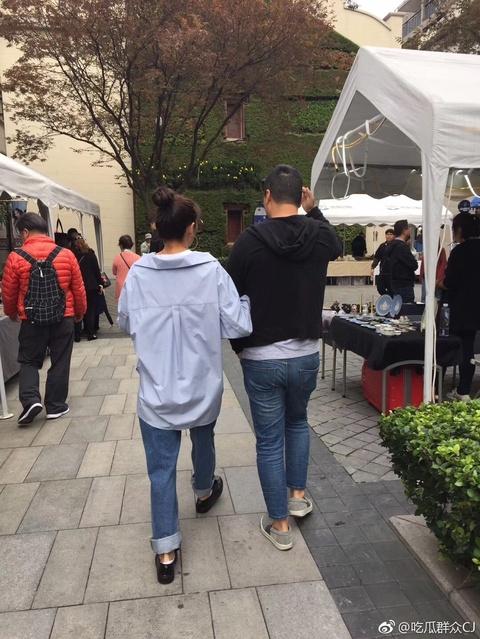 組圖:化干戈為玉帛?網曝張雨綺與前夫袁巴元攜手逛街
