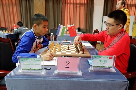 高清-上合组织国家国象赛最终轮 李荻冲击冠军