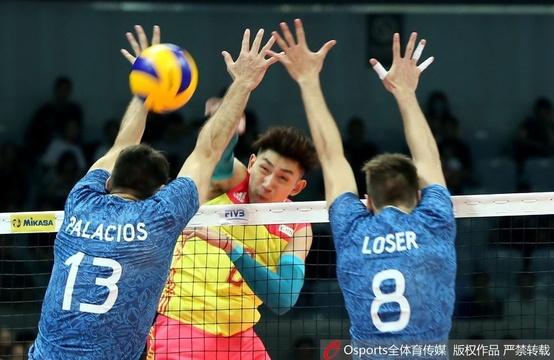 世界男排联赛中国vs阿根廷