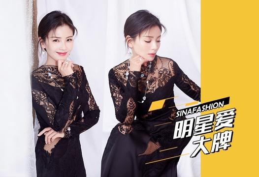 明星爱大牌:刘涛蕾丝礼服优雅婀娜气质尽显