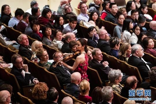 纽约爱乐乐团举行中国新年音乐会