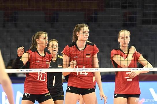 世联赛德国女排3-1塞尔维亚