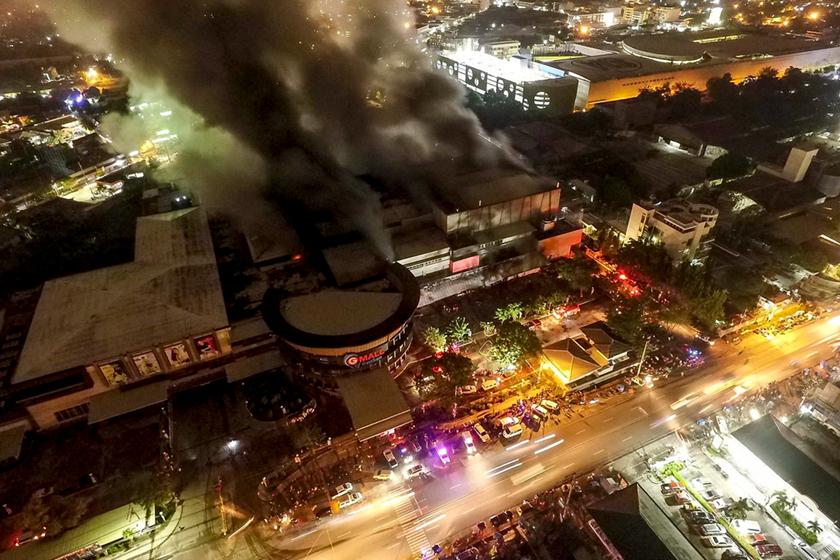 搜狗图片-share555菲律宾南部发生6.3级地动 本地一阛阓震后起火(1)