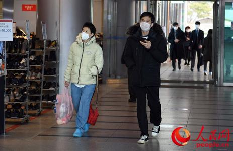 韩国新冠肺炎累计确诊1766例 疫情下的首尔站实景