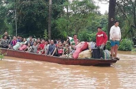 老挝一水电站大坝坍塌 多人遇难数百人失踪