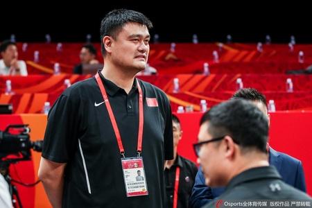 中国vs科特迪瓦 姚明现场督战