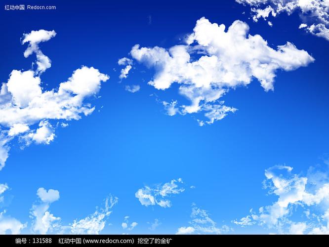 蓝天白云清爽 背景 图片 风景 图片 图片库 图库下
