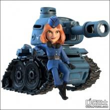 海岛奇兵全新坦克3d酷炫人物造型曝光