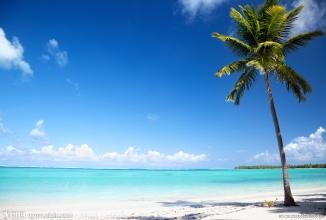 海边美景摄影图 自然风景系列