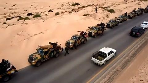中东一国叛军攻打首都