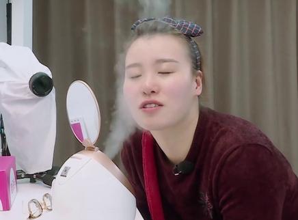 第6期:傅园慧首次化妆现身