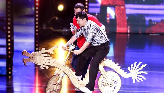 第7期:沈腾自曝体重,骑坏自行车