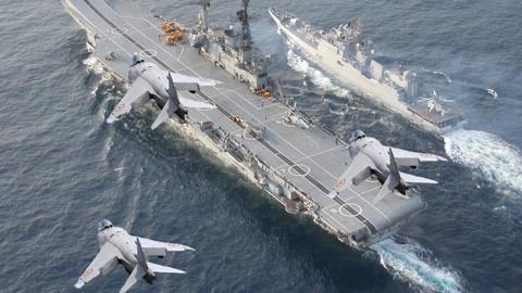 23日海上大阅兵!中国航母、新型核潜艇驱逐舰、反潜机等全参加