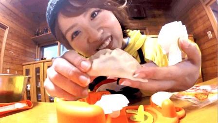 好玩 日本包饺子机做日式饺子