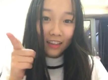 2016超女报名选手赵韩倩