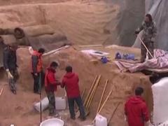 考古现场故事 汉代神秘大墓开棺记