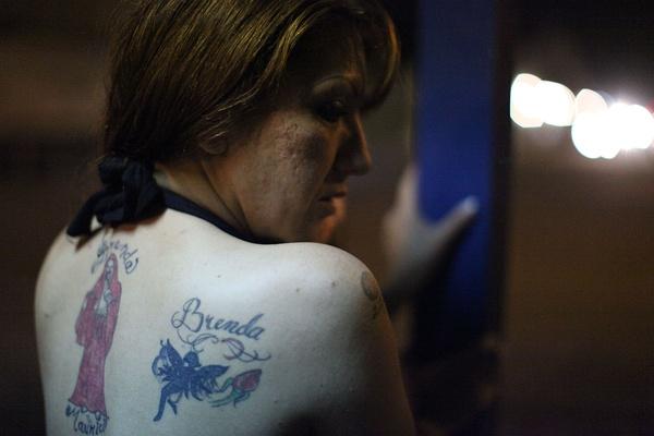 纹身站街女_花妓纹身手稿内容图片分享
