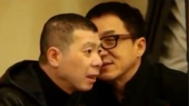 晓说:冯小刚自曝办事吃饭请成龙感觉倍有面!