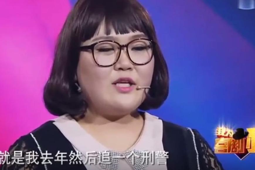 我为喜剧狂胖女孩综艺节目上面,为情感发声,谢娜眼眶都红了