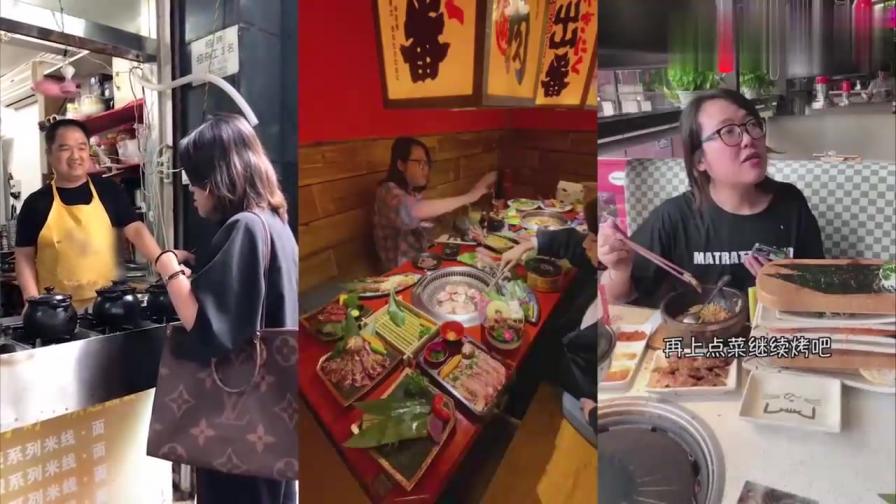 饭馆老板怀疑浪老师假吃,结果被浪老师明明白白的上了一课!