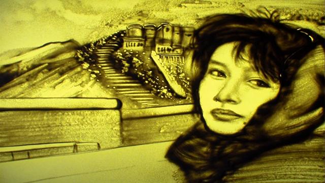 李娜《青藏高原》沙画版,经典中的经典,无人超越!
