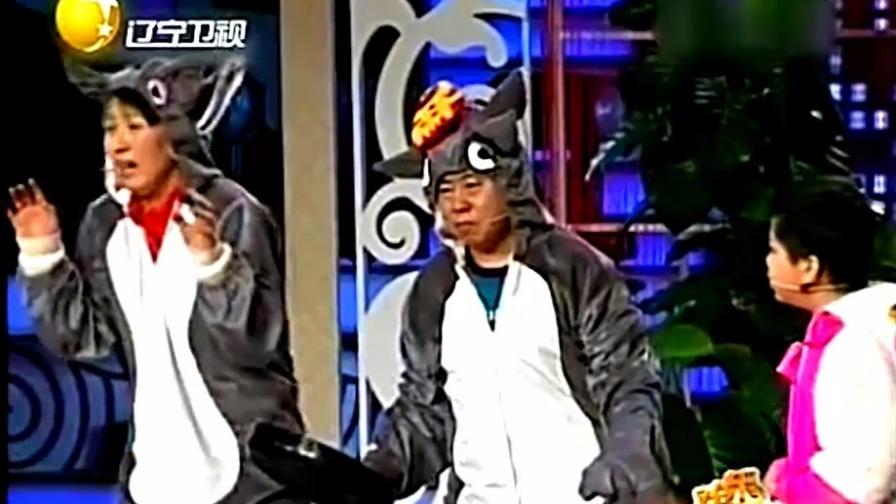 童话:潘长江和妻子互换身份,潘长江上来就是一平底锅